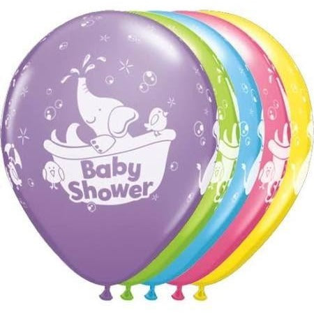 "11""  RND  SPECIAL AST     25CT BABY SHOWER ELEPHANT"
