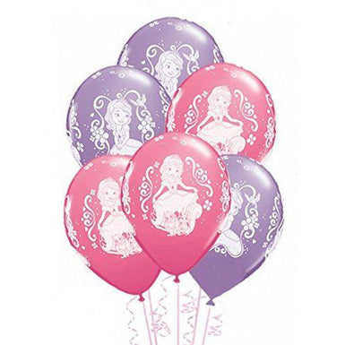 12'' Sofia The First Latex Balloons Retail Pack - END OF LINE