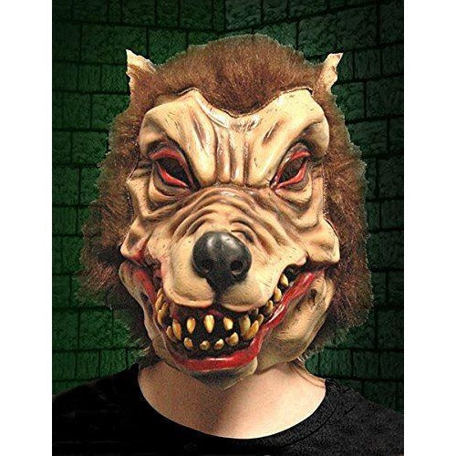 Halloween Wolfman Latex Mask