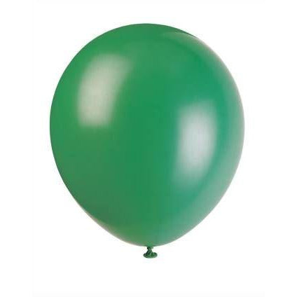 "12"" Latex Balloons, 72ct - Forest Green"