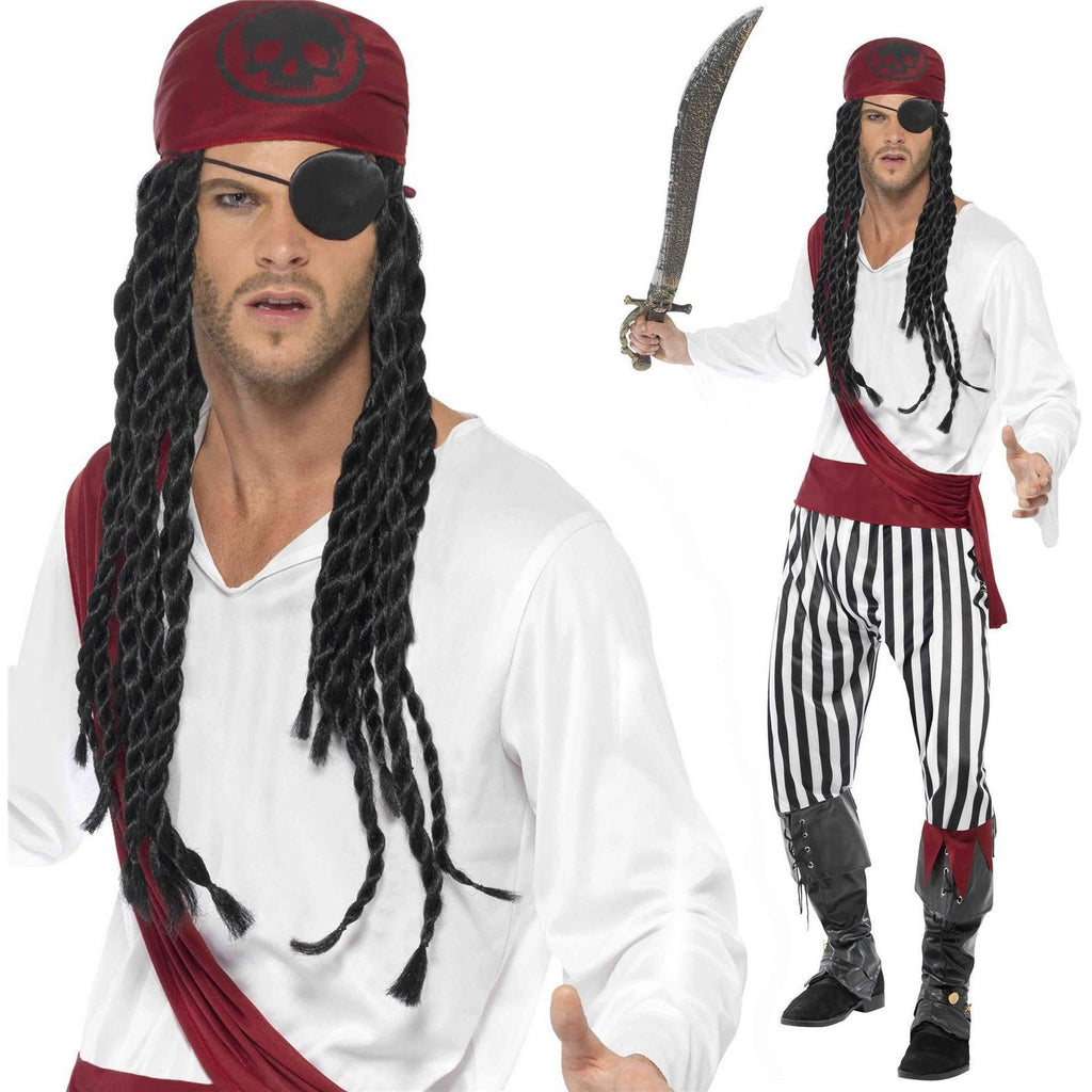 Smiffys Pirate Man Costume Medium