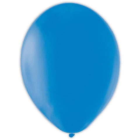 BALLOON pk100 12.5cmGentiaBlue