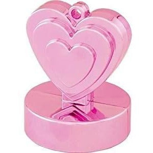 HEART WEIGHTS 12CT (FULL BOX) PEARL PINK