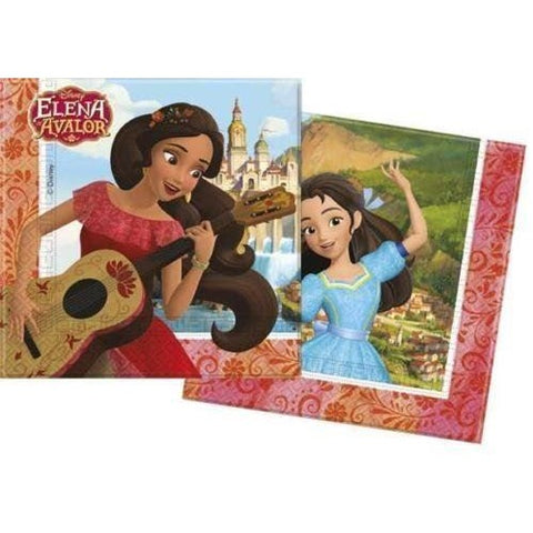 NAPKINS PAPER TWO-PLY 20CT,  ELENA OF AVALOR