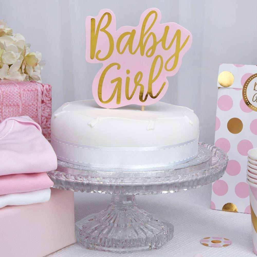 Pattern Works - Cake Topper Baby Girl