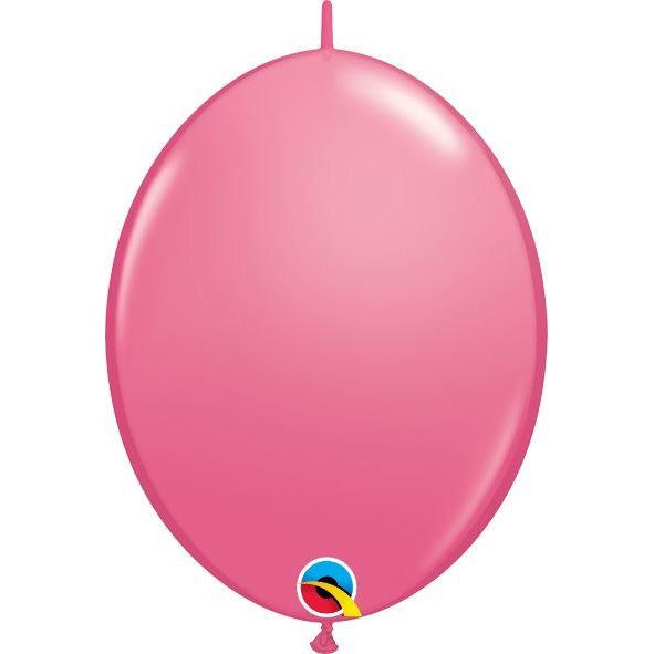 "12"" QLINK ROSE            50CT QUALATEX QUICK LINK BALLOONS"