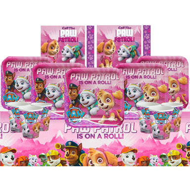 Pink Paw Patrol Set for 16