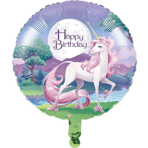 Unicorn Fantasy Foil Balloon