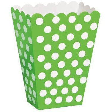 Treat Box Lime Green Dots (Also Upstairs)