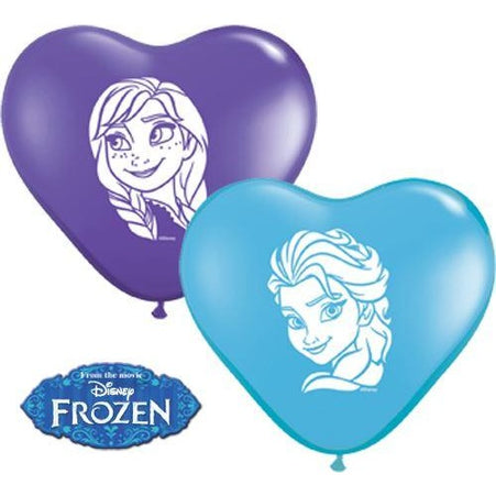 "06""  HRT  P BLUE&VIOLET  x20   ANNA & ELSA FROZEN FACES AST"