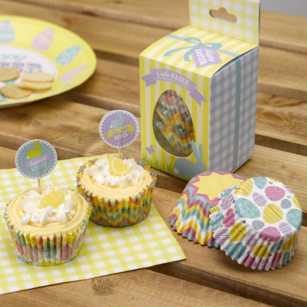 Happy Easter Cupcake Cases - 100