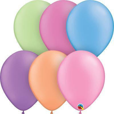 Assorted Neon Ballooons 100 count