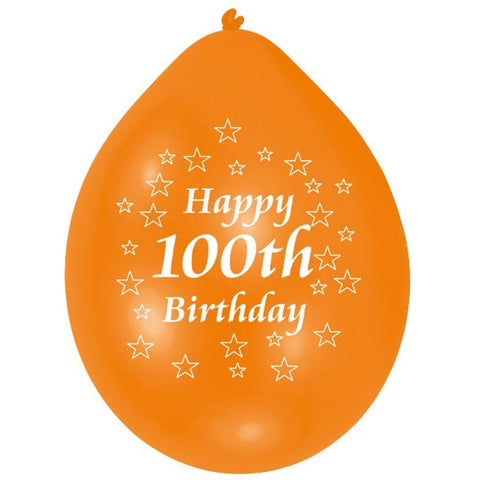 Balloon pk10 22cm H 100th Birt
