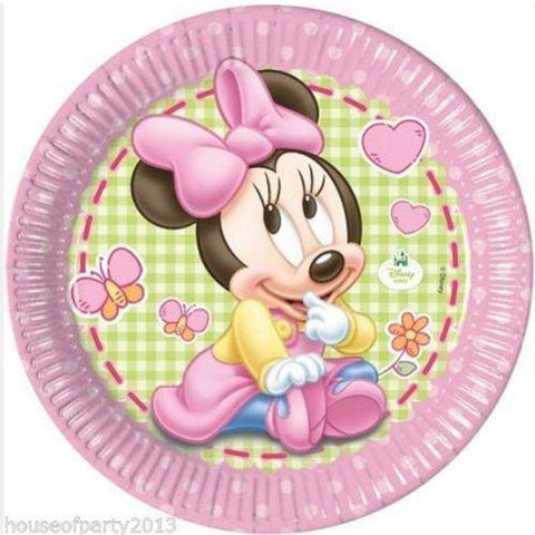 Baby Minnie Plates (end of line) do not order