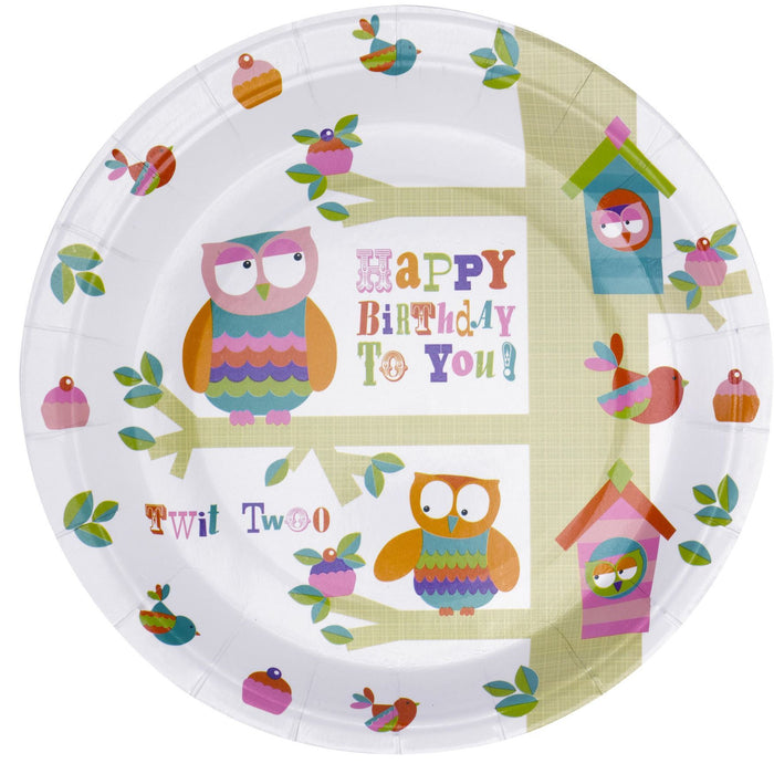 Tree Top Friends Plates - END OF LINE April 2018 (CLR.5)