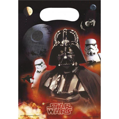 PARTY BAGS 6CT STAR WARS