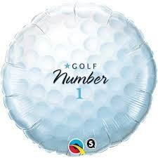 "18""  RND                  01CT,  GOLF BALL-NUMBER 1"