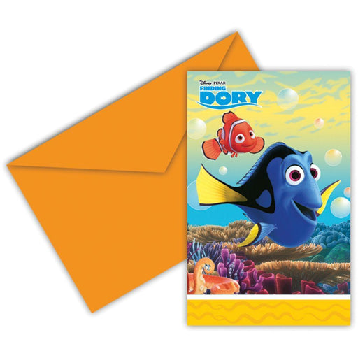 Finding Dory Invitations - End of line April 2018 (Clear Tubs - Stacked)