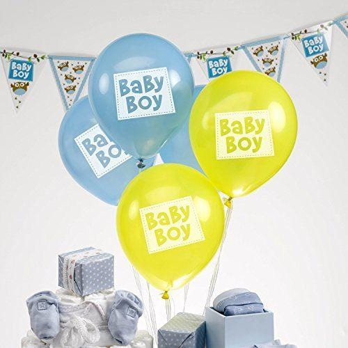 Little Owls - Baby Boy Balloons - 8