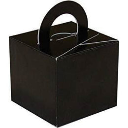 50 Cake Box Balloon Weights Black