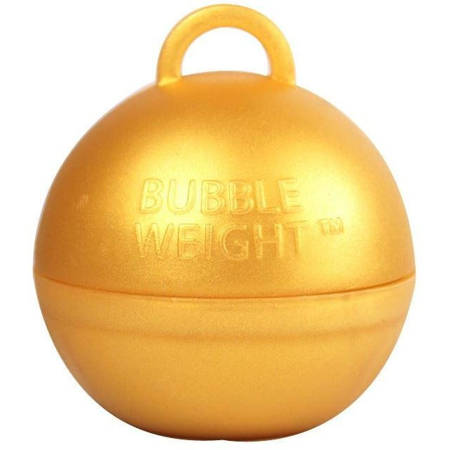 Bubble Balloon Weight Gold