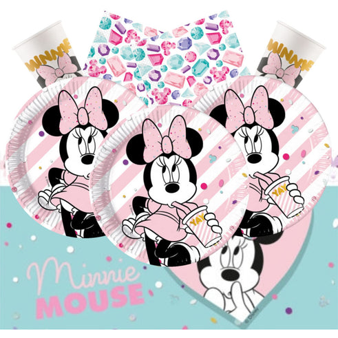 Disney Minnie Mouse Party Gem Set for 16
