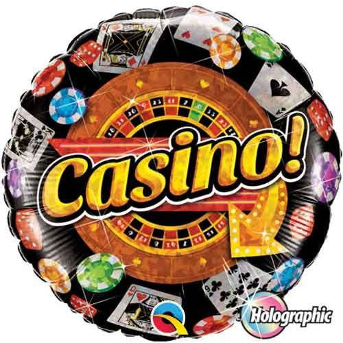 Qualatex Gold Casino Foil 18""