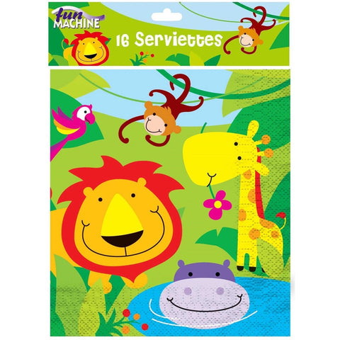 Jungle Party Napkins