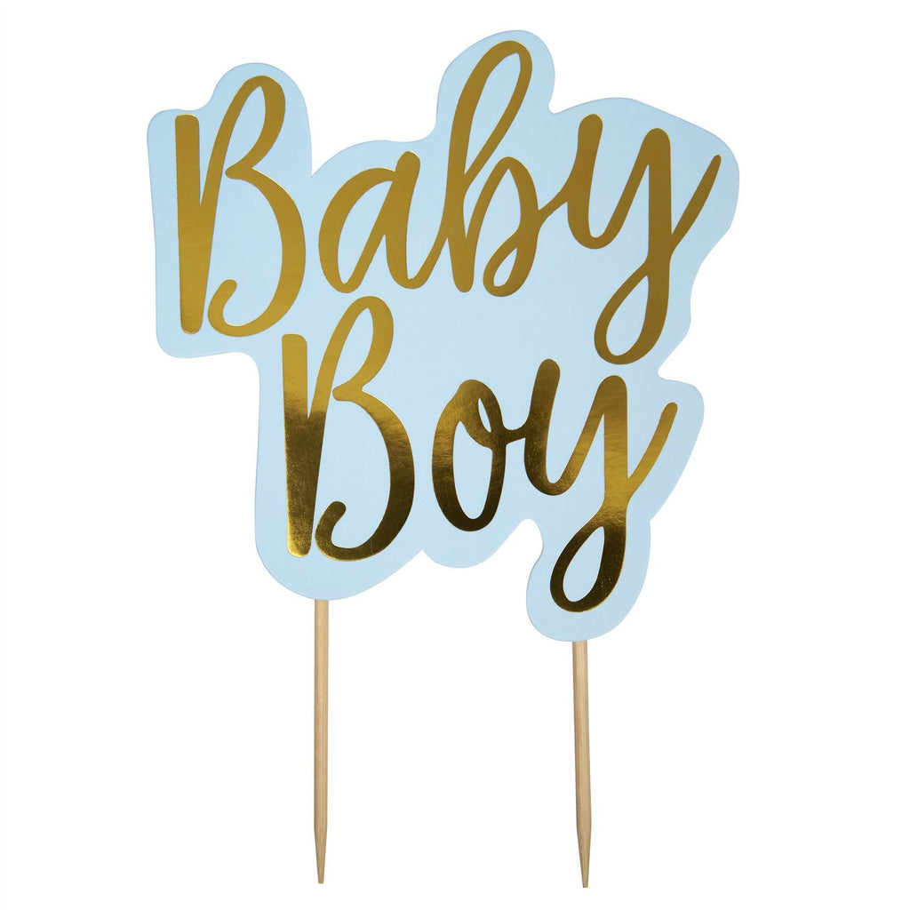 Pattern Works - Cake Topper - Baby Boy