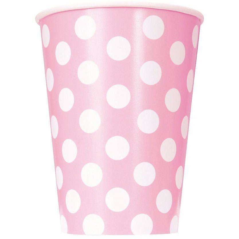 Lovely Pink Dots Cups