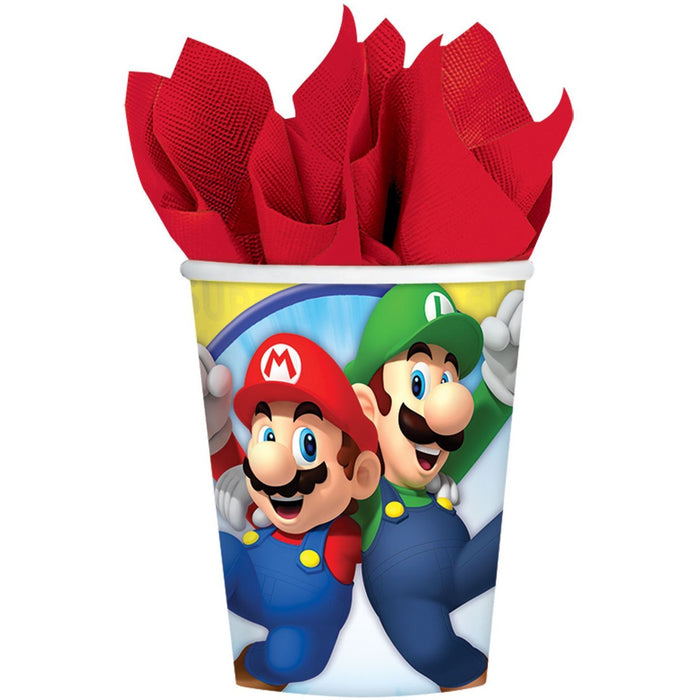 CUP 266ML SUPER MARIO (Clear Tubs - Stacked)