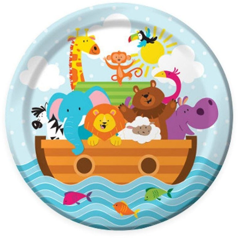 creative noah's ark plate - end of line