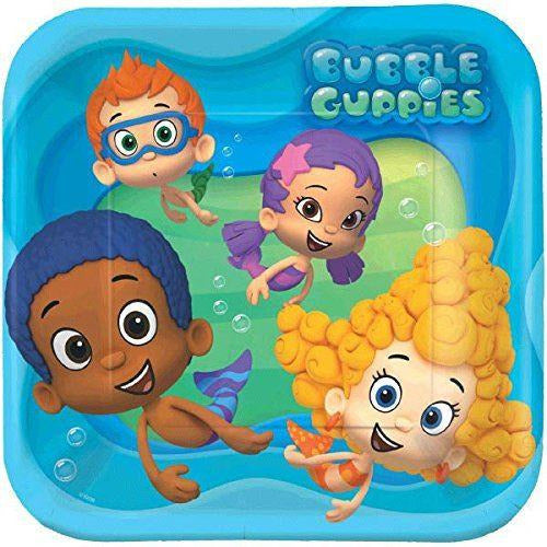 Bubble Guppies Plate- end of line