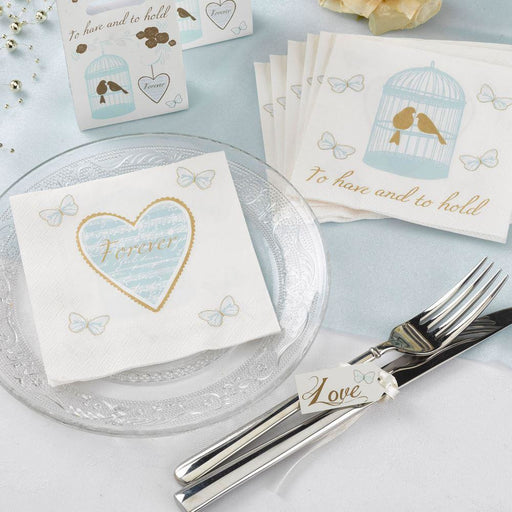 TO HAVE AND TO HOLD - COCKTAIL NAPKINS PK20