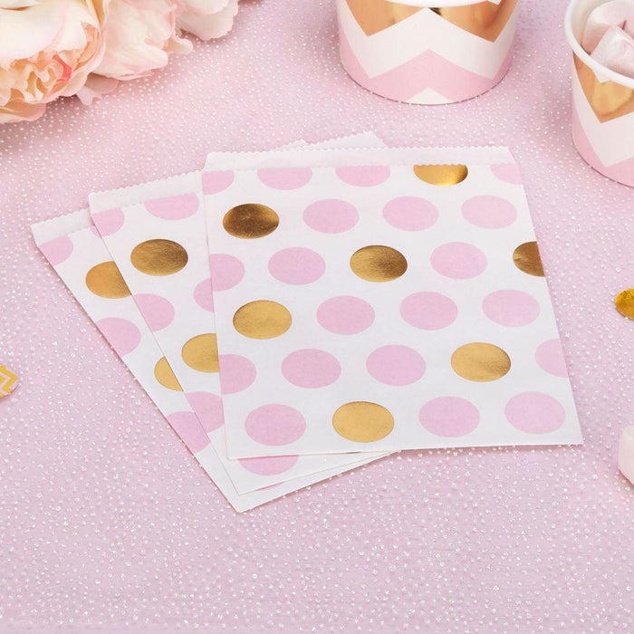 Pattern Works - Sweetie Bag Pink Dots - 25 pack