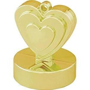 HEART WEIGHTS WEIGHTS x1 (SINGLE) GOLD