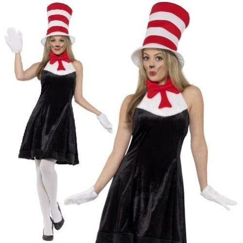 Smiffys Cat in the Hat Costume S