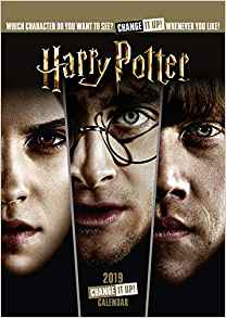 2019 Official Calendar A3 Harry Potter Change It Up