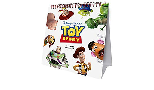 2019 Official Calendar Easel Toy Story