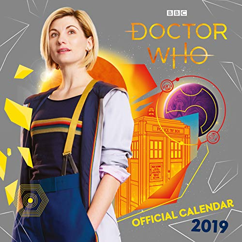 2019 Official Calendar Square Doctor Who