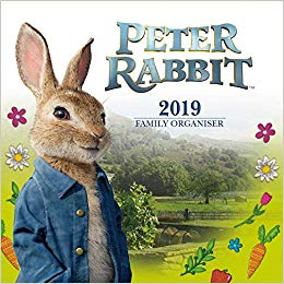 2019 Official Calendar Square Peter Rabbit Family Organiser