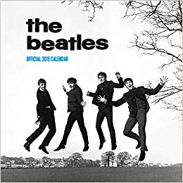 2019 Official Calendar Square The Beatles