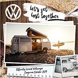 2019 Official Calendar Square VW Camper Van