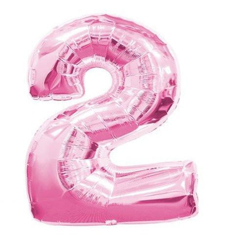 Pink Number Balloon 2