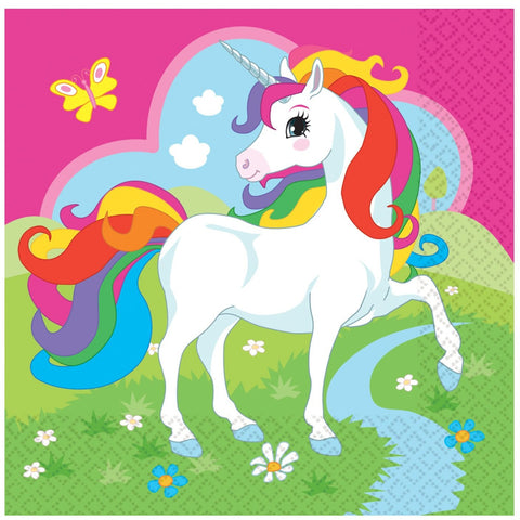 Unicorn 20 Napkins Amscan