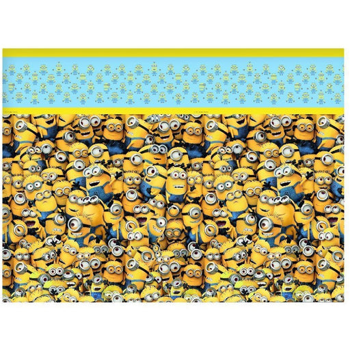 PARTY TABLE COVER 1CT,  LOVELY MINIONS