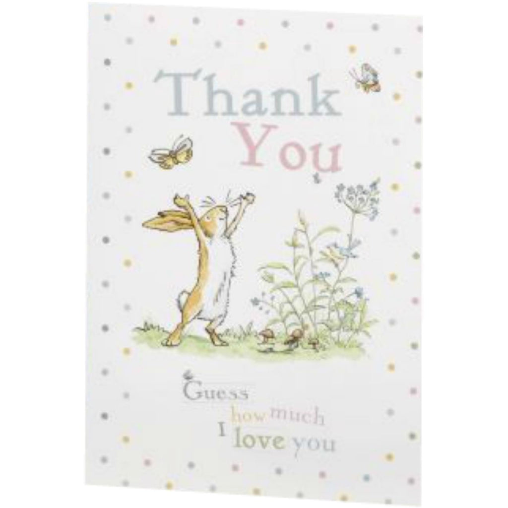 Guess How Much I Love you - Thank You Cards - 10