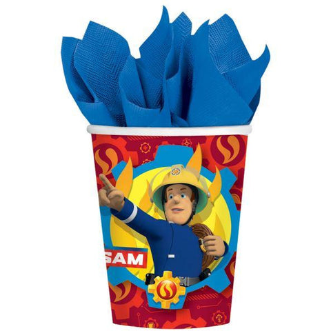 2017 Fireman Sam Cups - END OF LINE (Clear Tubs - Stacked)