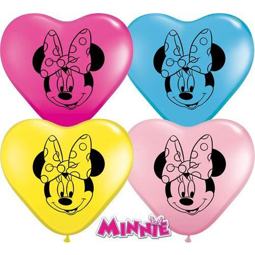 "06""  HRT  SPECIAL AST    x10   DN MINNIE MOUSE FACE"