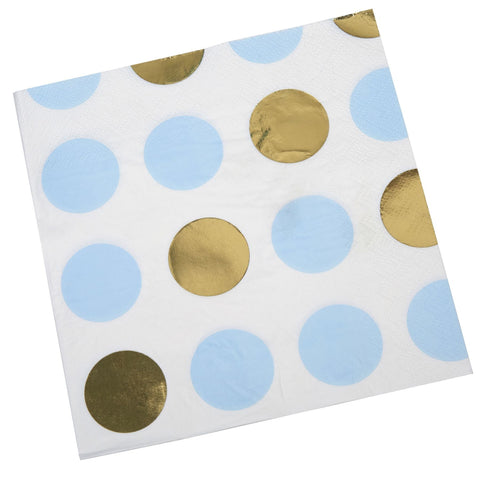 Pattern Works - Napkin Blue Dots - 16 pack